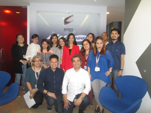 Powerful Presentation Skills Workshop for AXN Networks Philippines