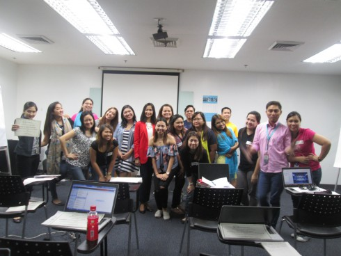 Powerful Presentation Skills Workshop for Maersk-Filipinas Crewing