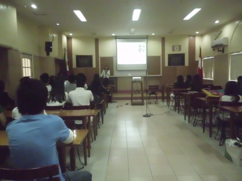 Personality Development Talk for the National Federation of Junior Philippines Institute