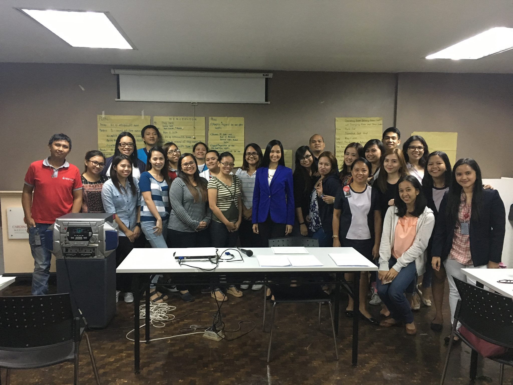 Effective Business Writing Training for Cardinal Santos Medical Center
