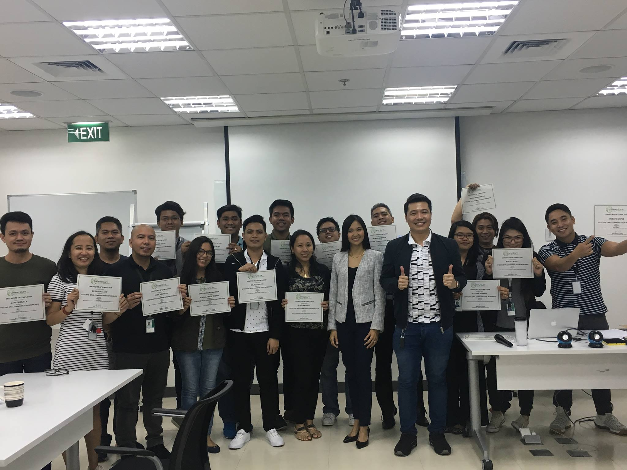 Effective Oral Communication Training for Nasdaq Philippines
