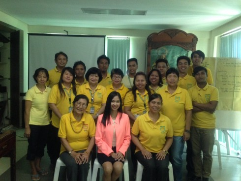 The Art of Leadership and Interviewing for the San Lorenzo Ruiz Charity