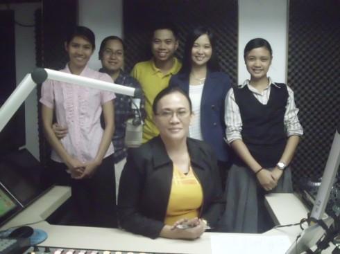 Monica Prado on UNTV Radio's Student Hour