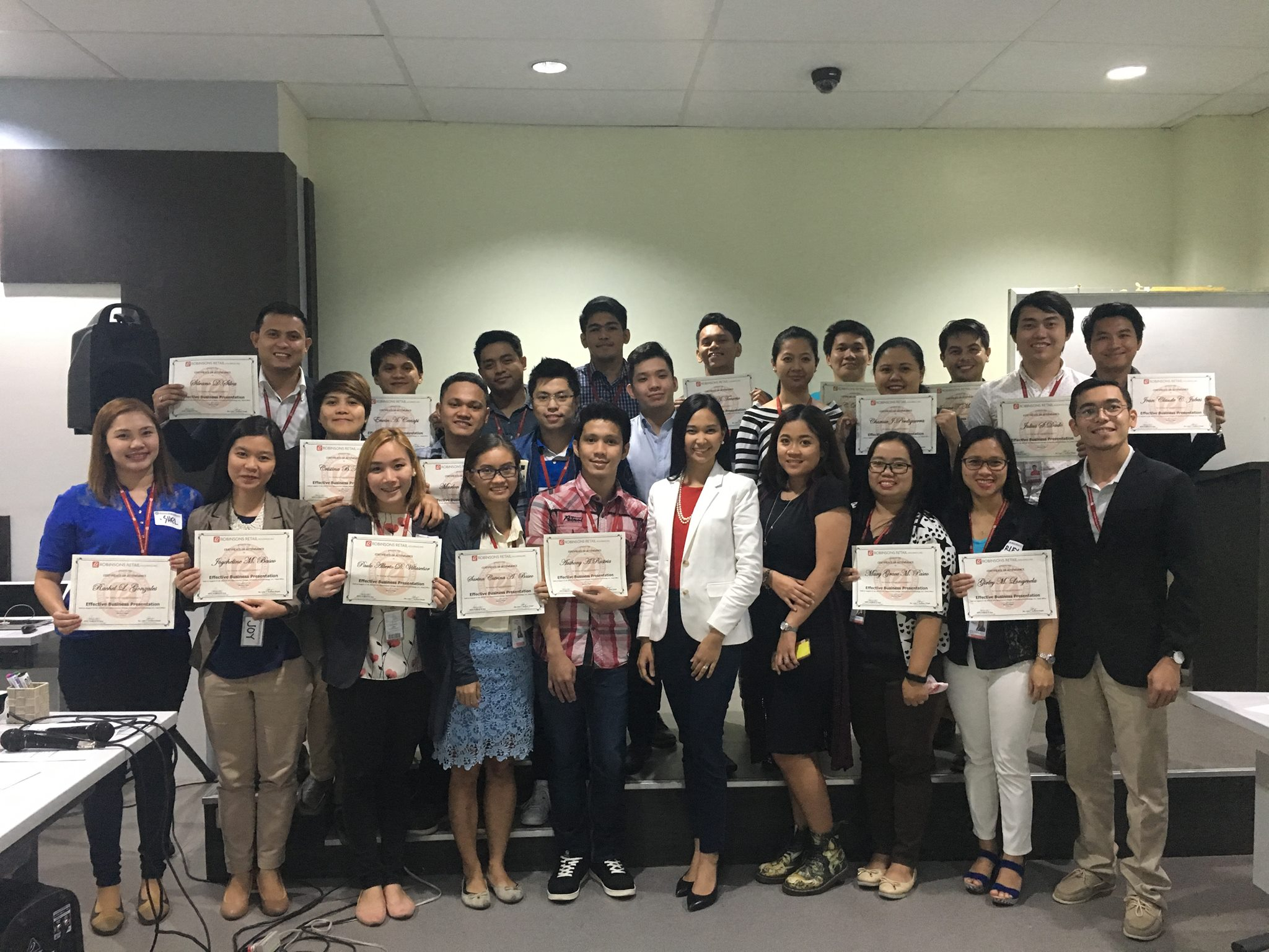 Effective Business Presentation Training for Robinsons Retail Holdings